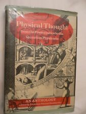 Physical Thought Professor Shmuel Sambursky 1st Edition &DJ Price Unclipped 1974