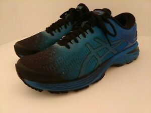 Mens Asics Gel-Kayano 25 Running Shoes, Size 9 Blue/Black (1011A030)