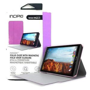 Incipio Faraday Hard Shell Folio with Magnetic Closure For Verizon Ellipsis 8