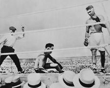 Heavyweight Championship JACK DEMPSEY vs JESS WILLARD Glossy 8x10 Boxing Poster