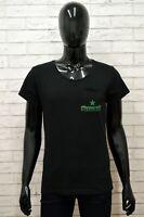 Maglia HEINEKEN Uomo Taglia Size M Maglietta Shirt Man Manica Corta Cotone Nero
