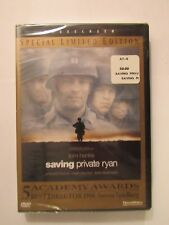 New Sealed Saving Private Ryan Dvd Special Limited Edition Widescreen Tom Hanks
