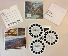 Vintage View-Master Great Smoky Mountains Park Stereo Pictures GAF Packet A 889