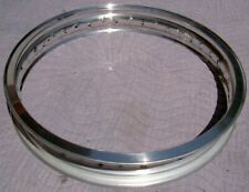 WM1 1.60 X 18 -36 hole Akront Italian style flanged alloy vintage motorcycle rim
