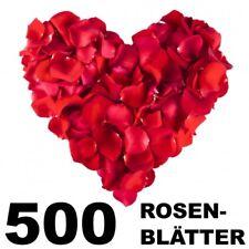 500 Rosenblätter Blütenbvlätter Rosenblüten Kunstrosen Hochzeit Valentinstag