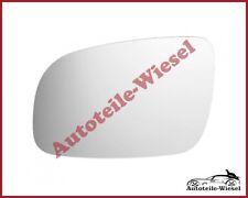 Außenspiegelglas Links Asph. Chrom für VW LUPO Schrägheck