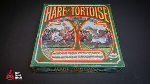 Vintage Hare And Tortoise Board Game GC Intellect Games FAST