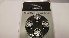 Union Jack valve stem caps (black) fits all Jaguars #C2D24287
