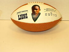 """NFL Licensed 1990 Barry Sanders Mini Football 5 1/2""""  Next Day Free Shipping"""