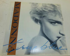 1986 Madonna True Blue/Ain't No Big Deal Blue Vinyl New
