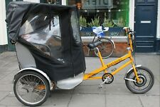 Cycles Maximus Pedicab - Rickshaw - Fietstaxi > Made in UK > 2nd Hand For Sale