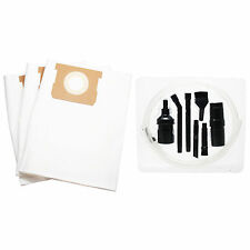 3x Vacuum Bags for Shop-Vac 587-24-62 587-34-00 596-07-00 587-25-10 w/ Micro Kit