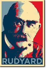 Rudyard Kipling Art Photo Print (OBAMA HOPE Parodie) Poster Cadeau si jungle book