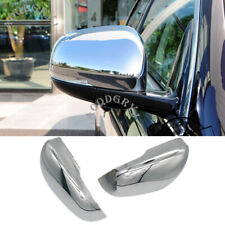 ABS Chrome replace Rear view Mirror Housing cover trim For Jaguar XF 2011-2019