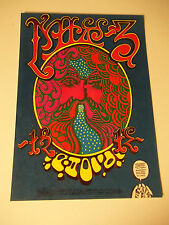 Vintage 1967  Family Dog Concert Poster Postcard CHUCK BERRY Sons of Champlin