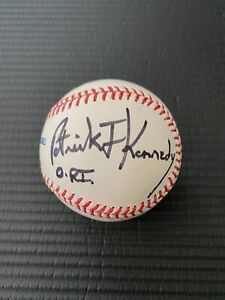 Patrick Joseph Kennedy II Signed MLB Baseball - Clear and Very Clean Autograph
