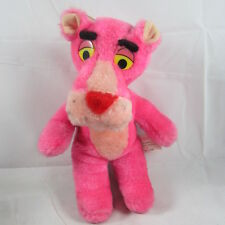 "10"" Pink Panther Plush Stuffed Animal Mighty Star United Artists Vintage 1980"