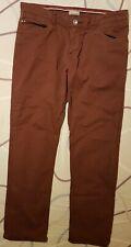 Napapijri Chinos Pants 5 pockets Red Brown W35 L30