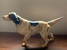 Hubley Large Cast Iron English Setter