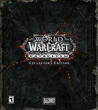 *FREE USPS PRIORITY SHIP*  World of Warcraft: Cataclysm Collector's Edition