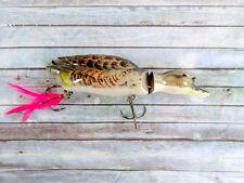Sneeker Duck Swimbait Surface Lure Brown
