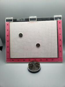 """MISTI My Sweet Petunia 6""""x8"""" Stamping Tool, Foam Mat, Grid Paper, 2 Magnets"""