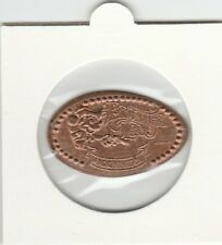 Pressed Pennies Elongated Penny - Disney - Magic Kingdom - Frontier Land (b075)