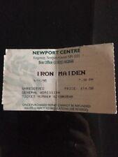 Iron Maiden The X Factor Tour Concert Ticket 1995