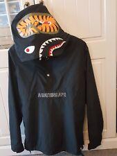 BATHING APE BAPE Shark Pullover Windbreaker Jacket Medium