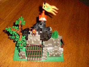 Lego System Ritter, Drachenfelsen 6076 + Bauanleitung, komplett