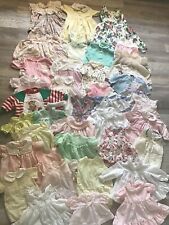 Lot of 43 Vintage Children's Clothes Dress Romper One Piece Knit Sweater .