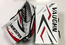 SPECIAL New ice hockey goalie blocker/catcher senior Sr goal glove set red/black