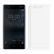 2 x Clear LCD Screen Protector Film Foil Saver For Nokia 3