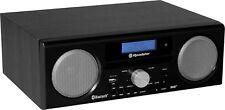 Roadstar HRA-9D+BT bk (sp) DAB+/DAB/UKW-Radio mit Bluetooth,MP3/CD,USB,Encoding