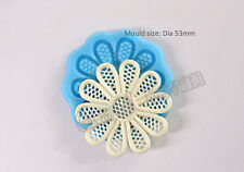 India Silicone Mold for Gum Paste Fondant 3D Silicone Cake Mould Molde