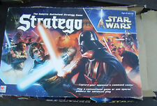 STAR WARS Stratego Board Game Parts Lot 2 Versions - Milton Bradley