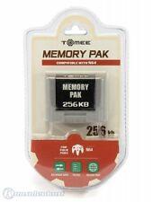 N64 - Memorycard / Speicherkarte / Controller Pak 256kb #grau [Tomee] NEU & OVP