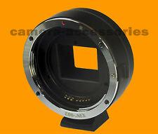 Auto focus automatique Canon EOS EF lentille pour Sony NEX Alpha E-mount adapter ring