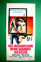 L04 Plakat Gli Assassins – die Killer Nicht Haben Wahl Noel Carr Fourastie