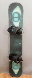 Made in Italy Killer Loop, Truth,  Snowboard W/ Technine Bindings 151CM  NR