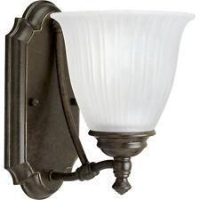 Progress Lighting Indoor Vanity Light 1-Light Forged Bronze Elegant Antique New