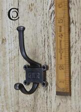 5 ghisa GWR ferroviaria Hat & Coat Hook 2 parte Repo vintage incl. VITI