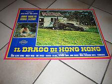 FOTOBUSTA AUTO CAR IL DRAGO DI HONG KONG G.LAZENBY