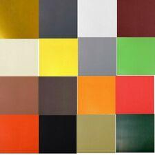 COUPON TISSU SIMILI CUIR 20 x 20 cm Coloris au choix