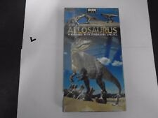 Allosaurus Bbc Vhs New - A Walking With Dinosaure Special 794051155238
