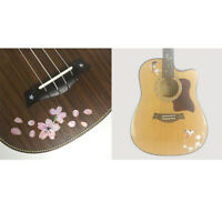 2pcs Guitar Inlay Decals Fretboard Markers Sticker for Guitar Bass Ukulele