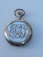 Sterling Silver Elgin Pocket Watch