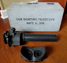 WWII ERA GUN SIGHTING TELESCOPE 7 x 50 Canadian Kodak Pat. G. 376