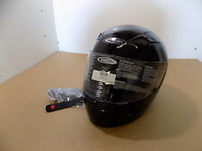 NEW CYBER US-39 FULL-FACE MOTORCYCLE HELMET / GLOSS BLACK / SIZE: S SMALL