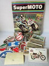 SUPER MOTO-PANINI 1975-FIGURINA a scelta-STICKER at choice-Recuperata